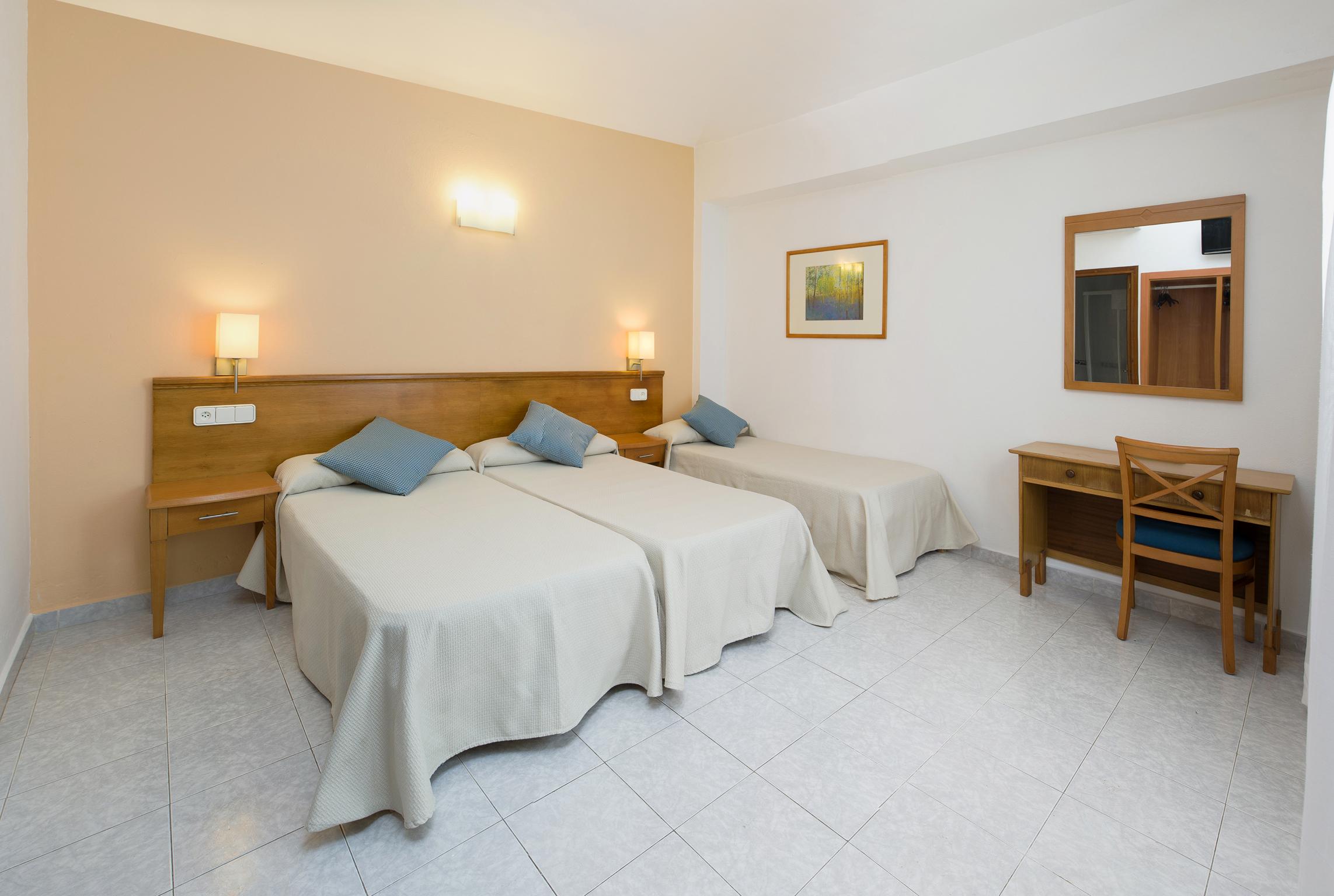 Logotipo de Hostal Mallorca, su hotel en Mallorca.
