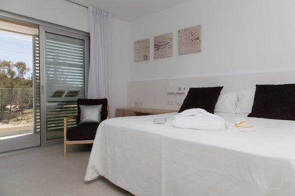 Standard Doppel- oder Zweibettzimmer und Zugang zum Spa
