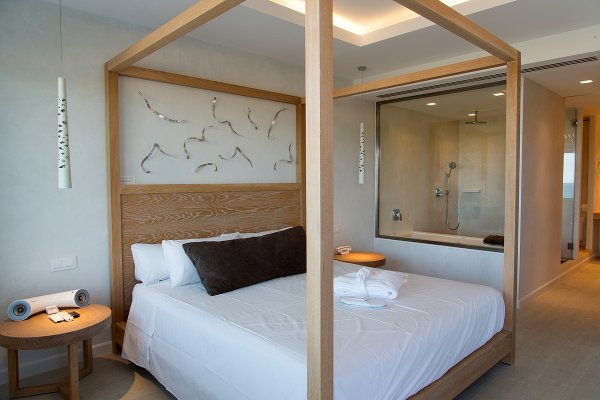 Junior Suite con vista mar y acceso al Spa