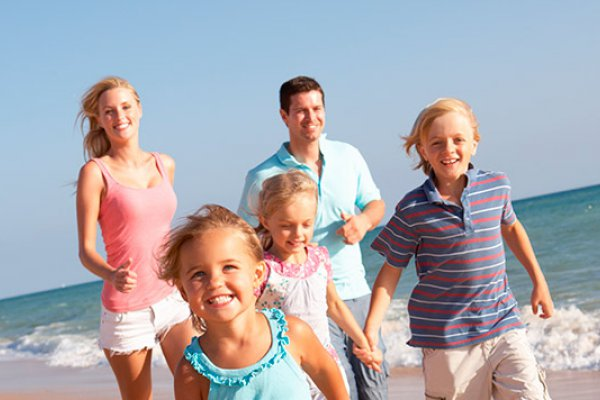 Personalized rates for Groups  and  Families